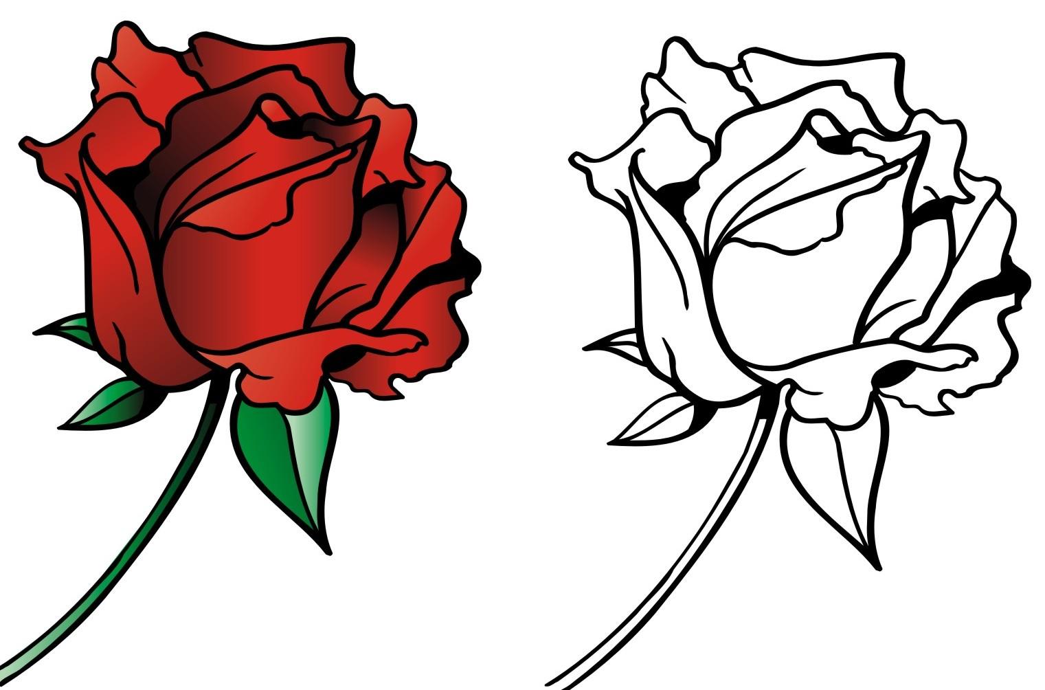 Раскраски картинки для девочек цветы » DreemPics.com ...