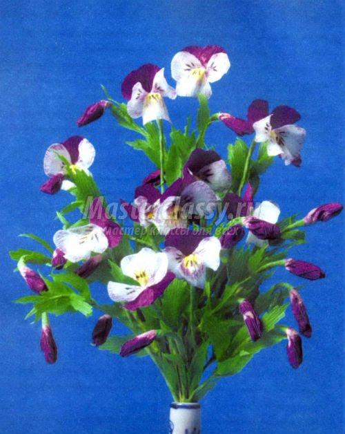 Красивые цветы своими руками пошаговое фото 68