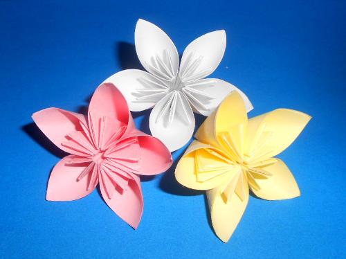 Как сделать цветы из бумаги на день рождения маме
