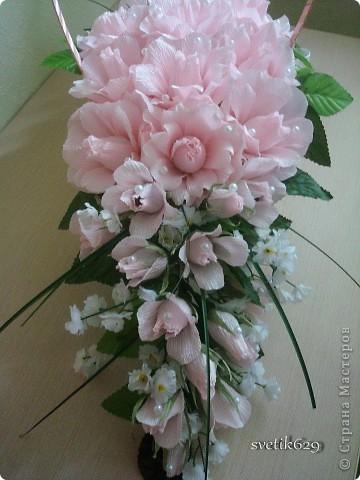 Цветы из гофрированной бумаги пошаговый рецепт 152