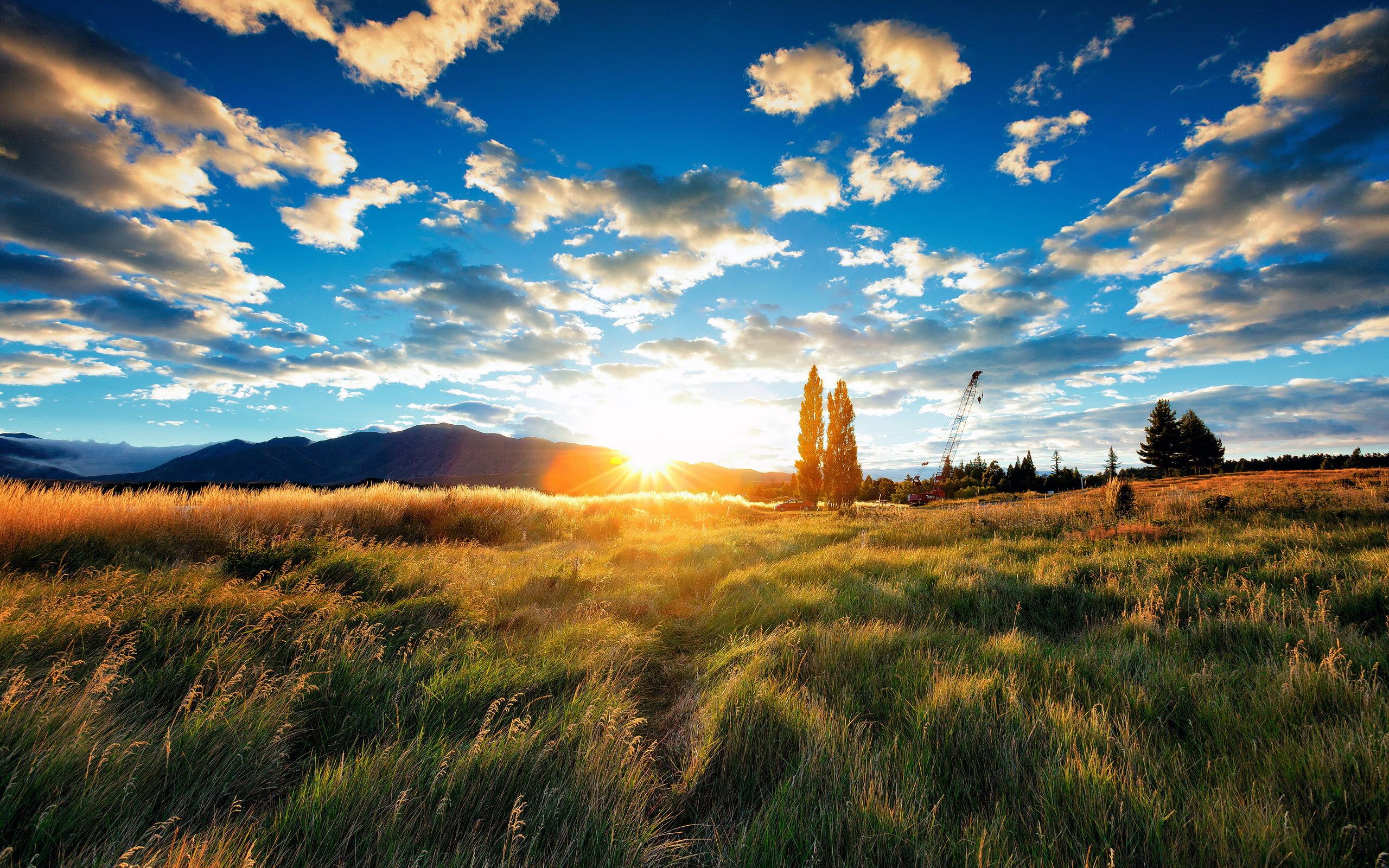 Природа рассвет фото