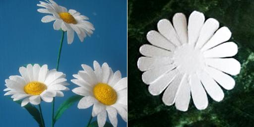 Цветок ромашка своими руками фото