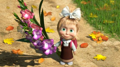 Картинки цветов из мультиков