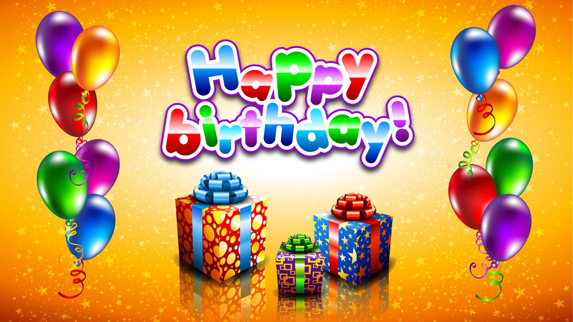 Слайд шоу поздравления с днем рожденья