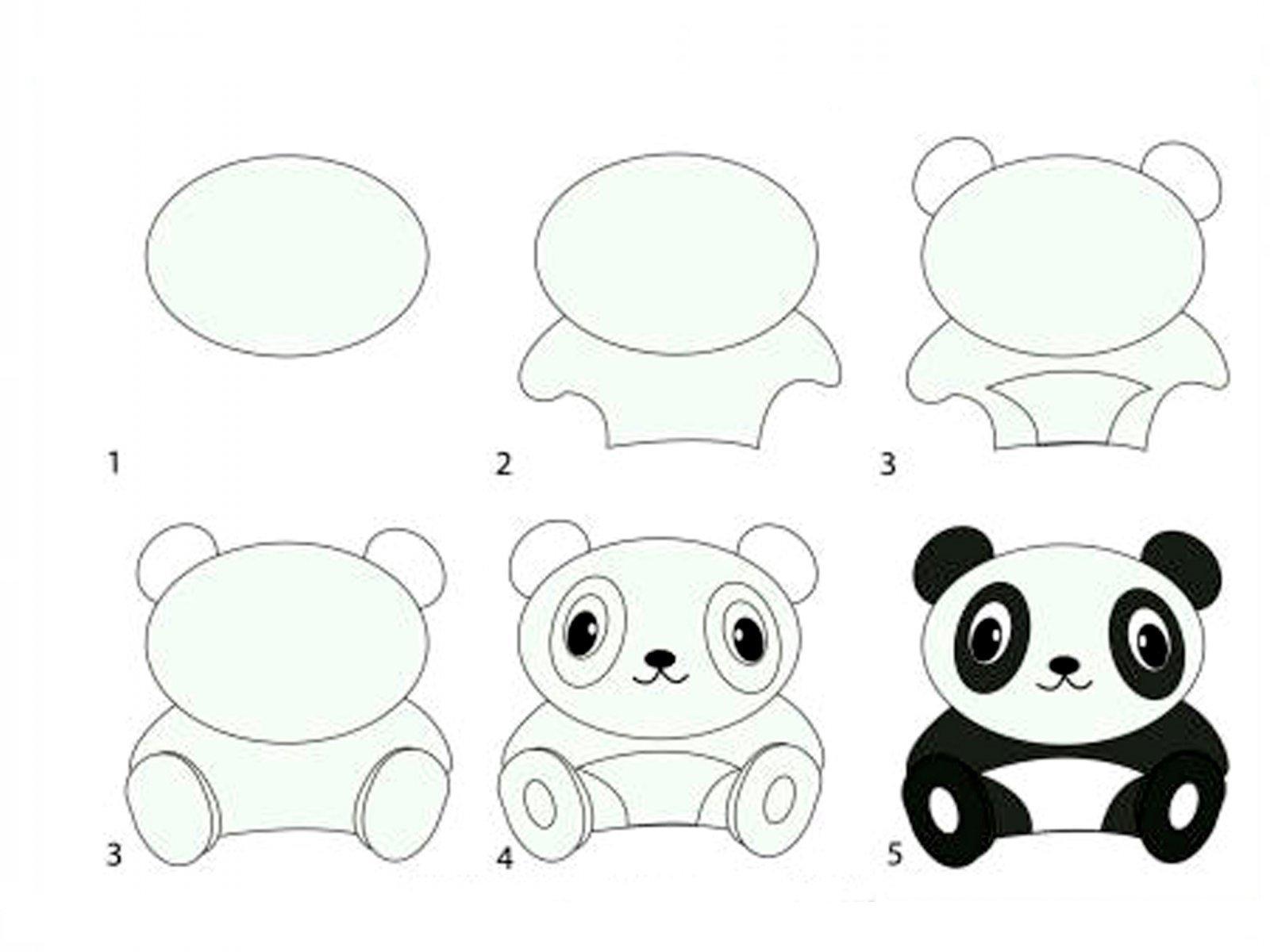 Как нарисовать стол поэтапно для детей