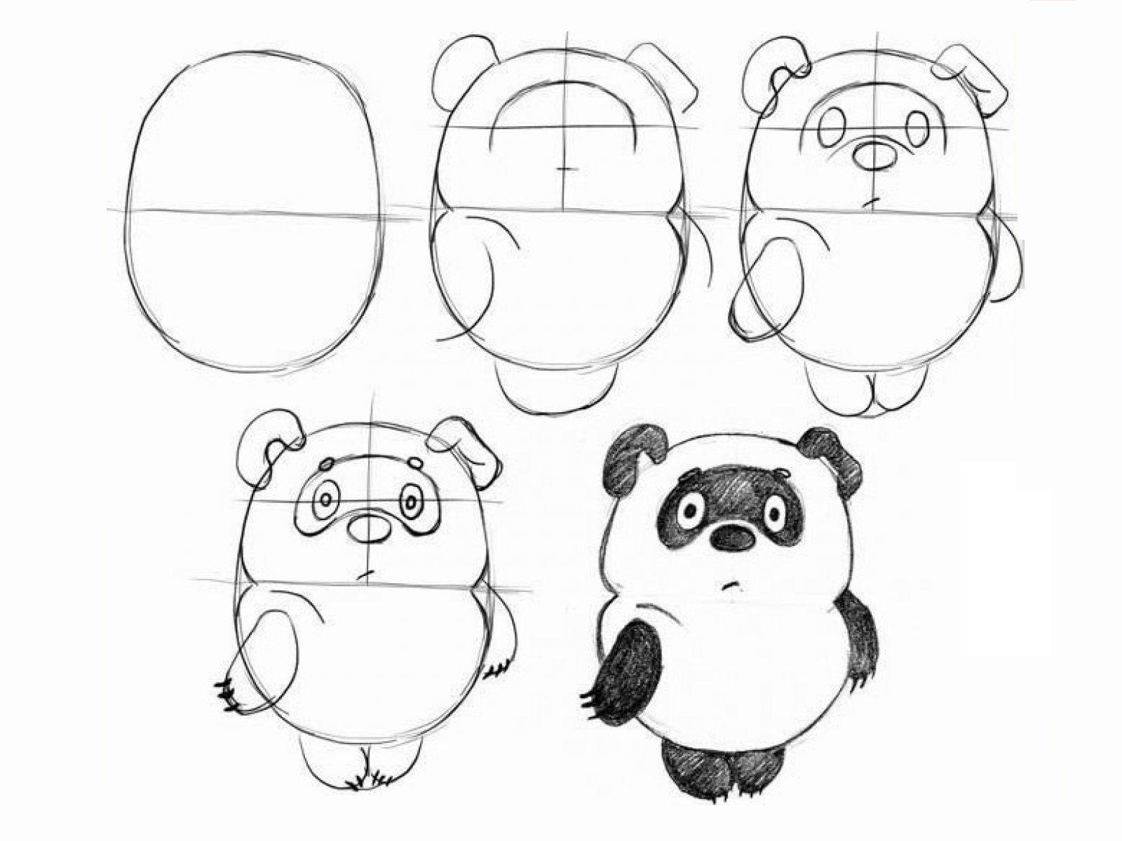 картинки рисовать карандашом лёгкие