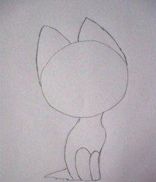 Как нарисовать милые глазки котенка поэтапно