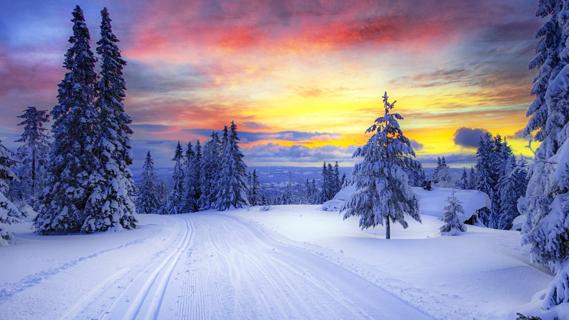 Заставка на аву зима картинка