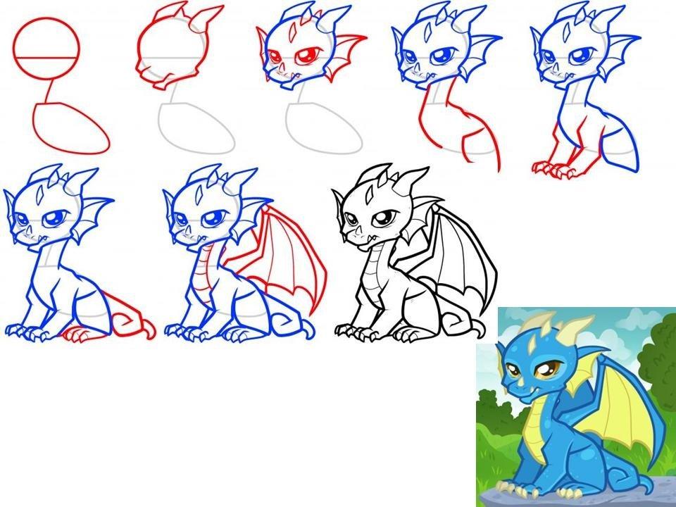 Мак картинки для детей нарисованные