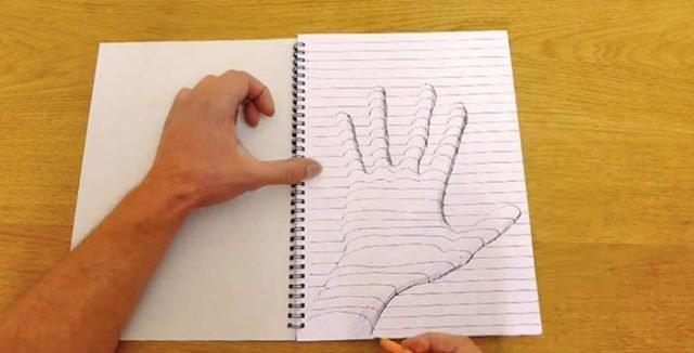 3д рисунки карандашом для начинающих поэтапно фото