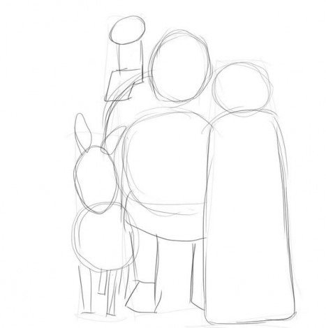 Как нарисовать ассасина поэтапно Lessdraw