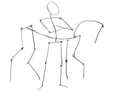 Как нарисовать богатыря карандашом поэтапно