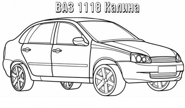 Автомобилей ВАЗ раскраски » DreemPics.com - картинки и ...